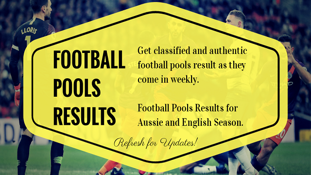 Week 31 Pool Results 2021