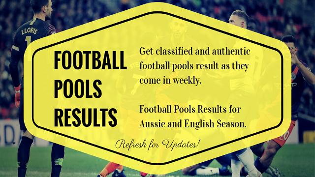 week 34 pool results 2021